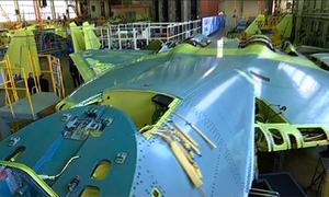 Tiêm kích Su-57 đầu tiên trong dây chuyền sản xuất hàng loạt của Nga