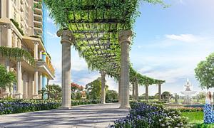 Vườn treo phong cách La Mã tại 'thành Rome' giữa lòng Sài Gòn