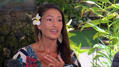 Amanda Eller trong cuộc phỏng vấn sáng 28/5, sau khi sống sót từ rừng trở về. Ảnh: CNN