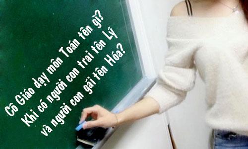 Cô Giáo dạy Toán ở trường cấp 2 tên gì?