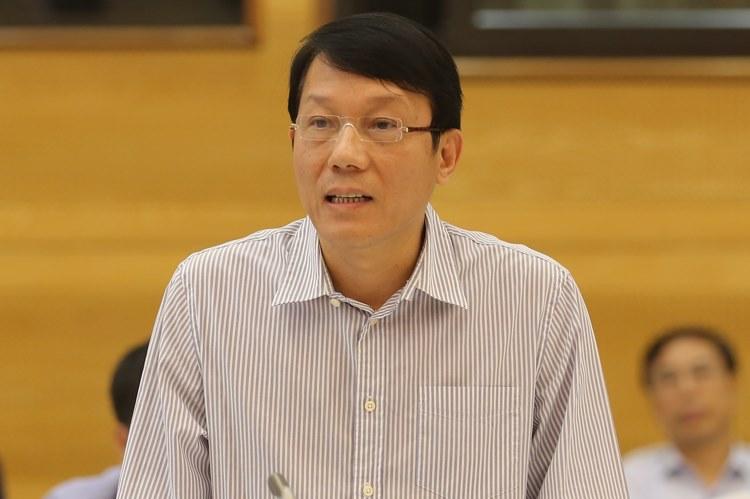 Ông Lương Tam Quang, Chánh Văn phòng Bộ Công an. Ảnh: Võ Hải