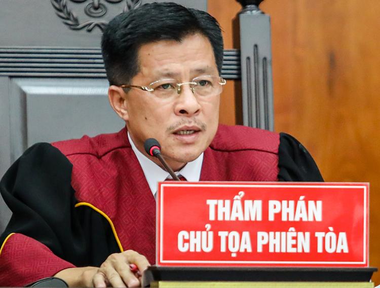 Thẩm phán Nguyễn Hữu Ba. Ảnh: Thành Nguyễn.