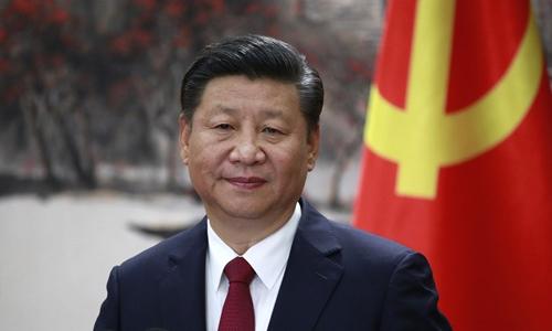 Chủ tịch Trung Quốc Tập Cận Bình tại Bắc Kinh năm 2017. Ảnh: AP.