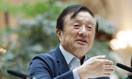 Nhậm Chính Phi tại Thâm Quyến, Trung Quốchồi tháng một. Ảnh: AP.