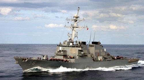 Chiến hạm USS John S. McCain của Hải quân Mỹ. Ảnh: Navy Times.