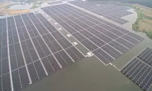 Nhà máy điện mặt trời nổi lớn nhất thế giới