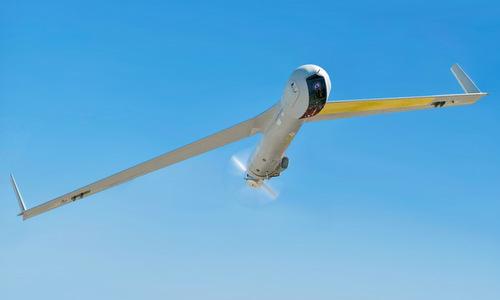 UAV ScanEagle được hải quân Mỹ thử nghiệm hồi năm 2018. Ảnh: US Navy.