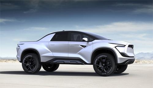 Thiết kế tổng thể của mẫu Tesla bán tải theo hình dung của Emre Husmen.