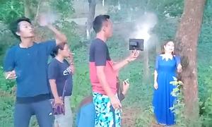 Hiệu ứng sương mù bằng khói thuốc trong video ca nhạc Ấn Độ
