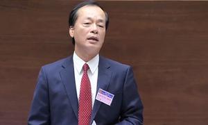 Bộ trưởng Xây dựng trả lời chất vấn Quốc hội