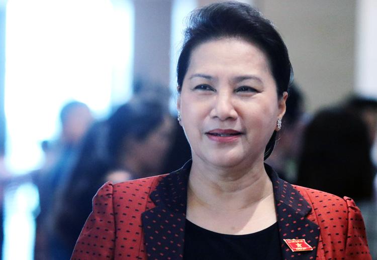Chủ tịch Quốc hội Nguyễn Thị Kim Ngân. Ảnh: Võ Hải.