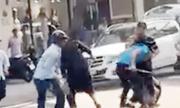 Nhóm người đi ôtô Mercedes bị vây đánh ở Sài Gòn
