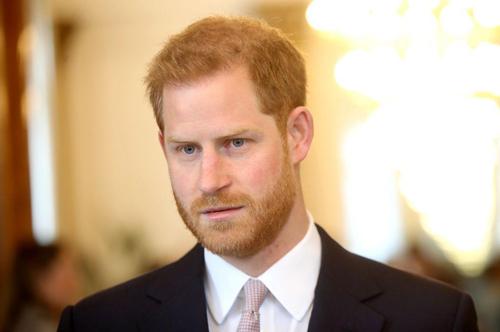 Hoàng tử Anh Harry. Ảnh: Times.