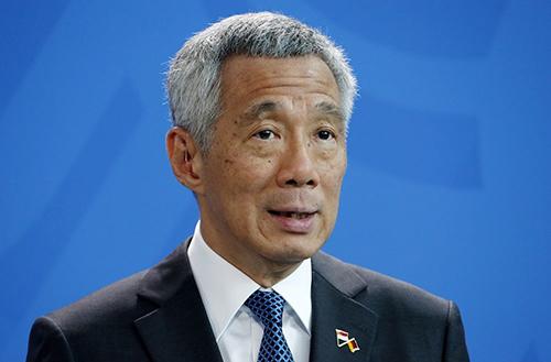 Thủ tướng Singapore Lý Hiển Long. Ảnh: The Star.