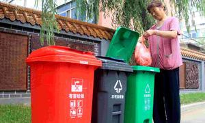 Trung Quốc kêu gọi người dân phân loại rác để tái chế