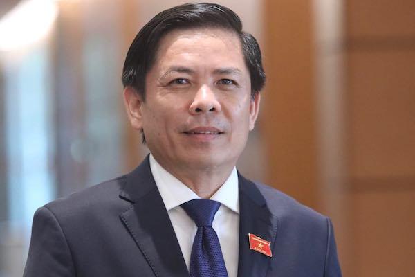 Bộ trưởng Nguyễn Văn Thể. Ảnh: Võ Hải