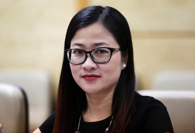 Phó vụ trưởng Pháp chế, Bộ Y tế Trần Thị Trang. Ảnh: Gia Chính