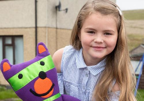 Jaydee-Lee, 7 tuổi. Ảnh: Wales & West Utillity/ Wales News Service