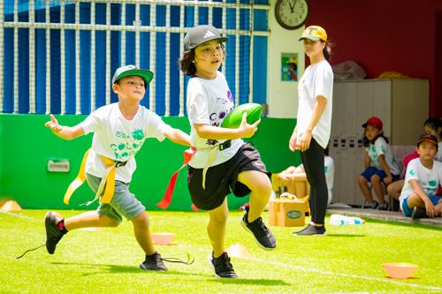 Trẻ em sẽ năng động hơn khi trưởng thành nếu được tham gia tập luyện thể thao sớm.