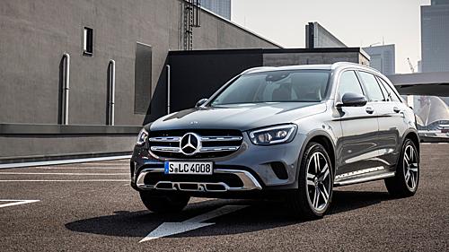 Tại thị trường Mỹ, Mercedes GLC chỉ bán phiên bản động cơ xăng dung tích 2 lít.