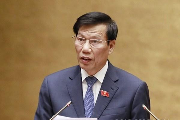 Bộ trưởng Văn hoá, Thể thao và Du lịch Nguyễn Ngọc Thiện. Ảnh: Trung tâm báo chí Quốc hội.