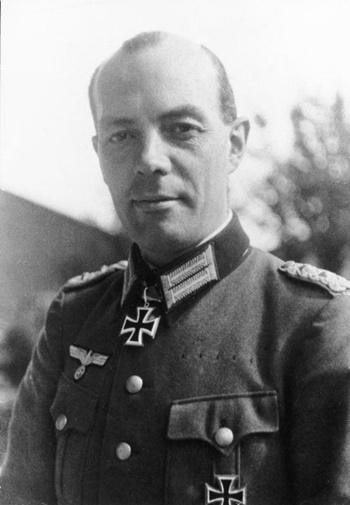 Rudolf-Christoph von Gersdorff vào thời Thế chiến II. Ảnh: Bild.