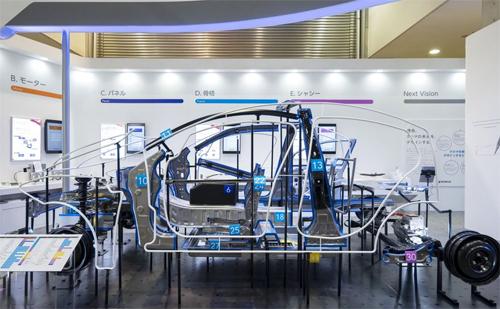 Kết cấu NSafe-Auto Concept của Nippon Steel.