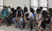 38 dân chơi phê ma túy trong quán hát ở Vĩnh Phúc