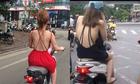 Khó xử phạt Ngọc Trinh vì ăn mặc phản cảm ở Cannes