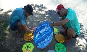 Cung đường đầm tôm Thị Nại sẵn sàng đón VnExpress Marathon