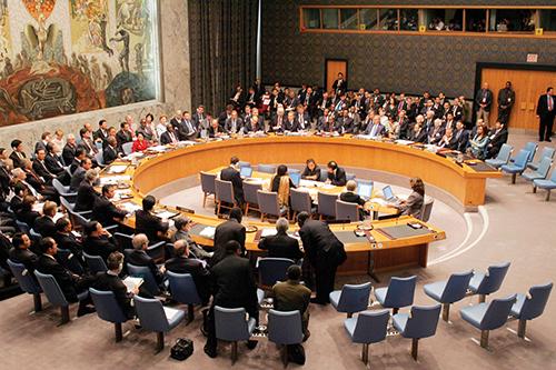 Hội đồng Bảo an Liên Hợp Quốc. Ảnh: NAOC
