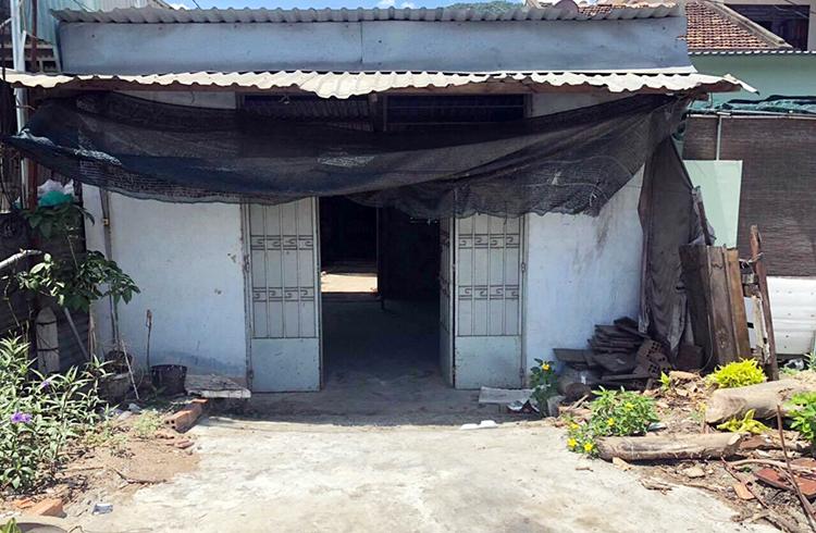 Ngôi nhà nơi ông lão 83 tuổi ở Khánh Hòa bị hàng xóm chém gục. Ảnh: An Phước