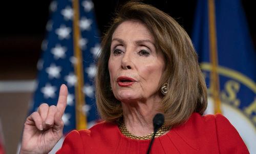 Chủ tịch Hạ viện Mỹ Nancy Pelosi. Ảnh: Politico.