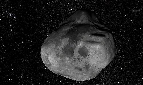 Thiên thạch 2006 QV89 rộng khoảng 50 m. Ảnh: CNN.