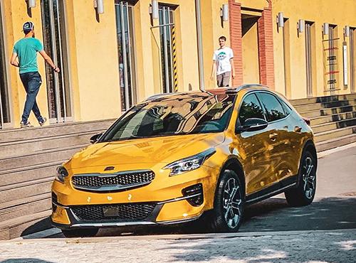 Kia Xceed, Crossover mới tại thị trường châu Âu. Ảnh: Carscoops