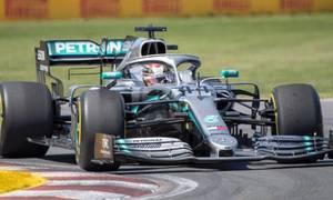 Lewis Hamilton về nhất tại Grand Prix Canada