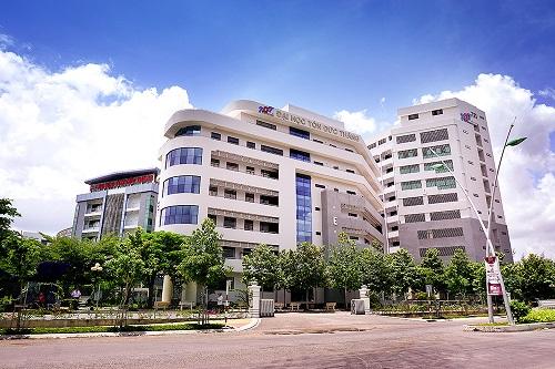 Một góc Đại học Tôn Đức Thắng. Ảnh: TDTU