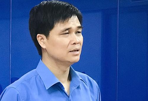 Ông Ngọ Duy Hiểu, Phó chủ tịch Tổng Liên đoàn Lao động Việt Nam.