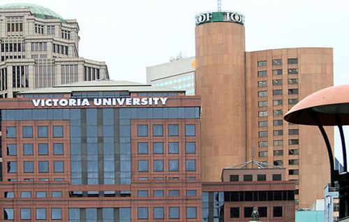 Đại họcVictoria University, nơi chị Thoại Giang từng theo học.