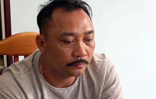 Phượng râu lúc bị bắt tháng 5/2018. Ảnh: Thiện Nhân.
