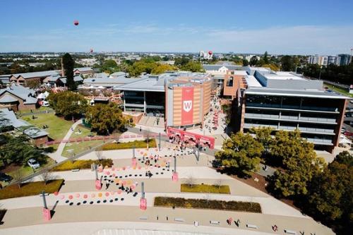Khuôn viên trường Western Sydney.