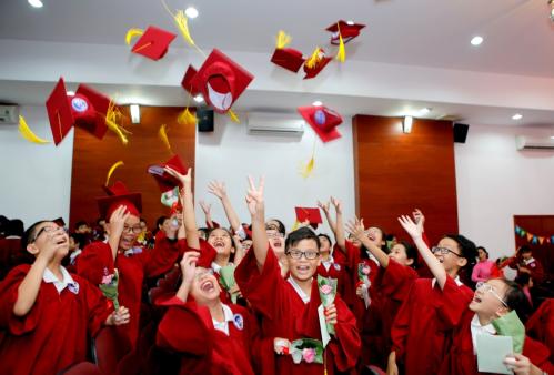 Các bạn nhỏ sẽ chuyển tiếp lên bậc Trung học AHS Trường Quốc tế Á Châu (Asian School) với trải nghiệm môi trường học tập, sinh hoạt nhiều đổi mới hơn. Với khả năng và bản lĩnh, kiến thức và kỹ năng được trang bị, các em sẽ tiếp tục chinh phục những chặng đường học tập tương lai, đại diện Trường Quốc tế Á Châu IPS cho hay.