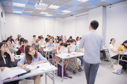 Một lớp học tại IPP IELTS.