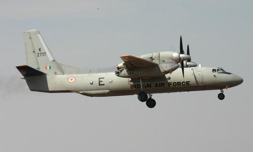 Vận tải cơ AN-32 của không quân Ấn Độ. Ảnh: IAF.
