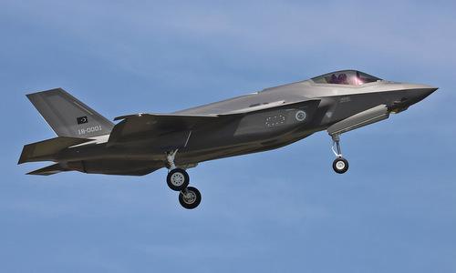 Tiêm kích F-35A đầu tiên của Thổ Nhĩ Kỳ bay thử tại Mỹ hồi năm 2018. Ảnh: USAF.