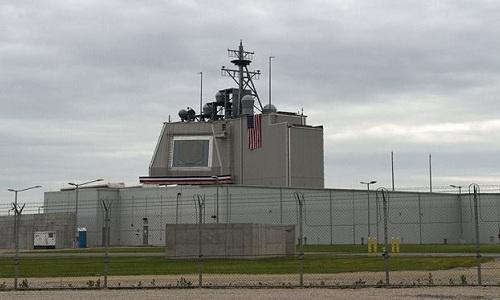 Một hệ thống phòng thủ tên lửa trên mặt đất Aegis Ashore của Mỹ. Ảnh: Military.