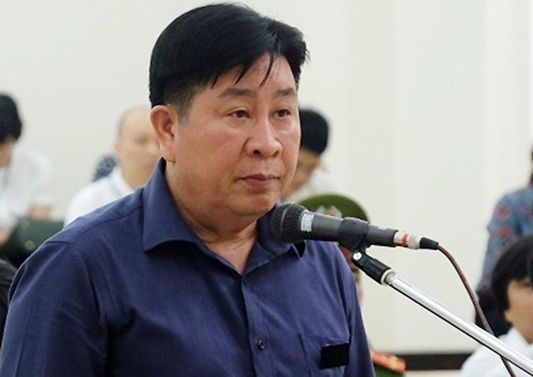 Cựu thứ trưởng Bùi Văn Thành tại phiên phúc thẩm. Ảnh: N.A.