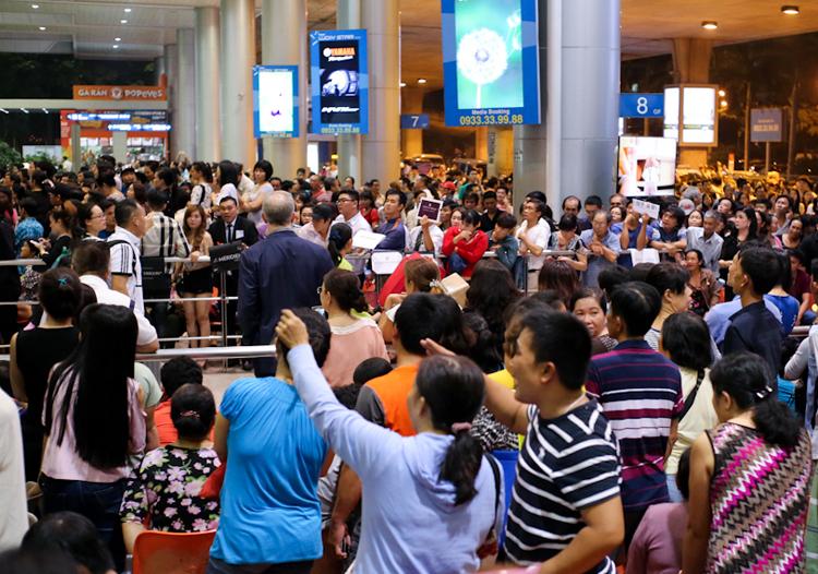 Sân bay Tân Sơn Nhất.Ảnh: Hữu Công.