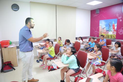 Cuộc thi dành cho các học viên lớp Thiếu nhi & Thiếu niên tại VUS.
