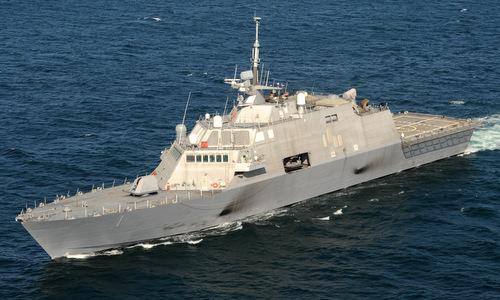 USS Freedom trong đợt thử nghiệm năm 2009. Ảnh: US Navy.
